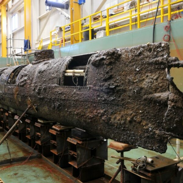H.L. Hunley- Confederate Submarine