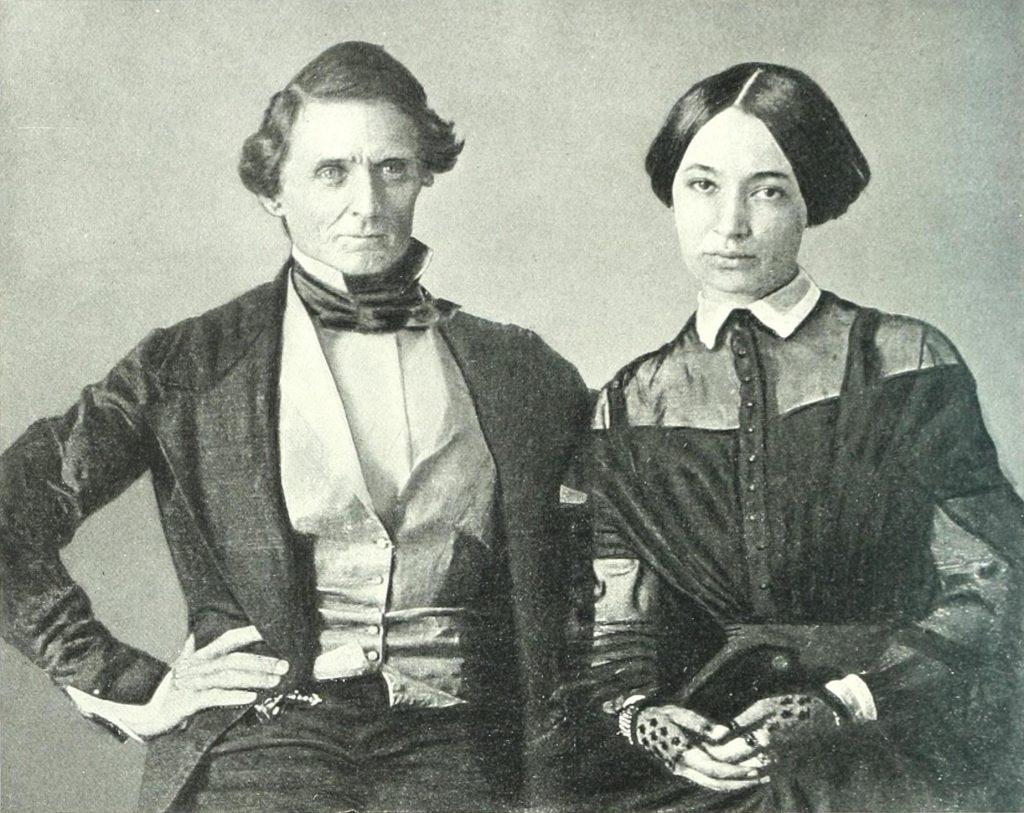Jefferson Davis & Varina Howell Davis
