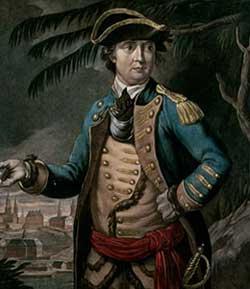 Benedict Arnold 1741-1801