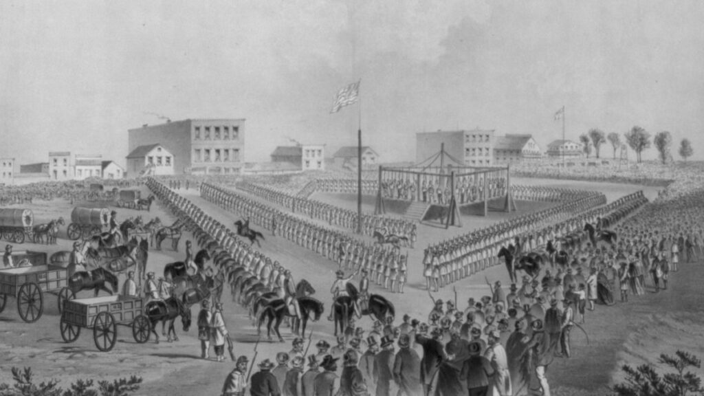 President Lincoln Approves the Execution of a Slave Trader
