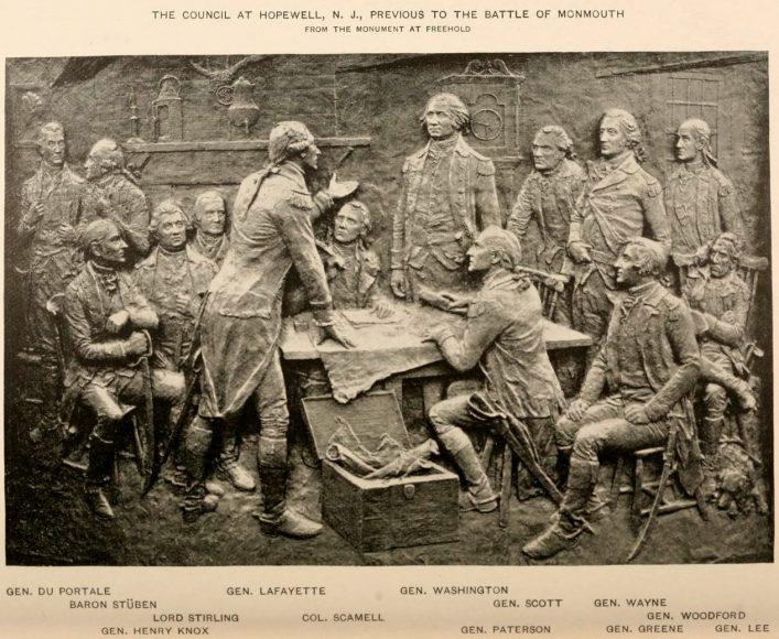 General Washington's Council of War