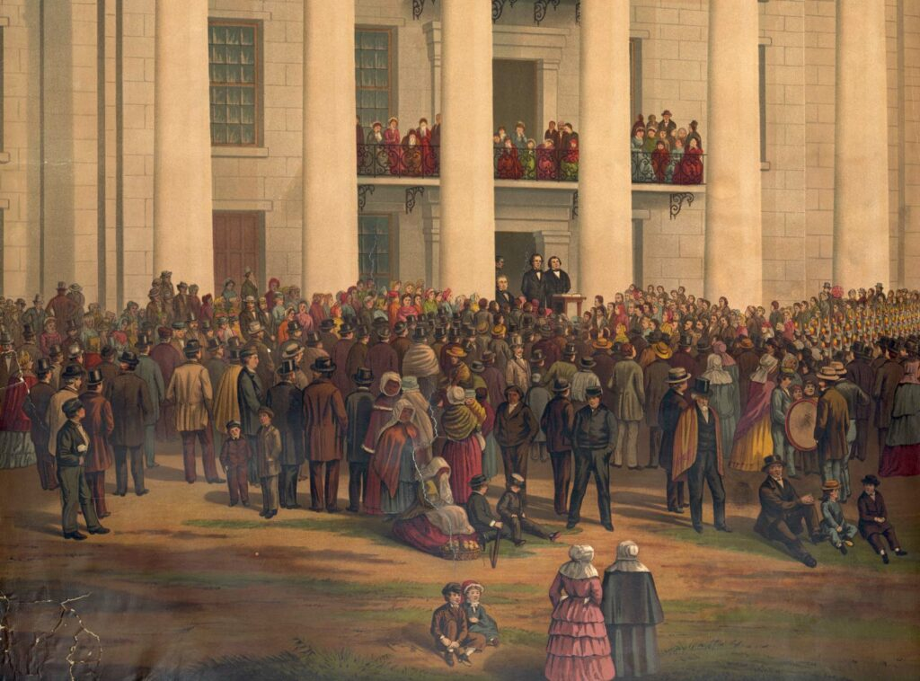 Speech to the Senate and House of Representatives of the Confederate States