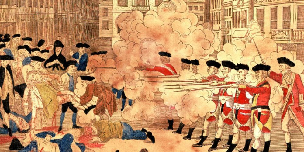 Captain Thomas Preston's account of the Boston Massacre