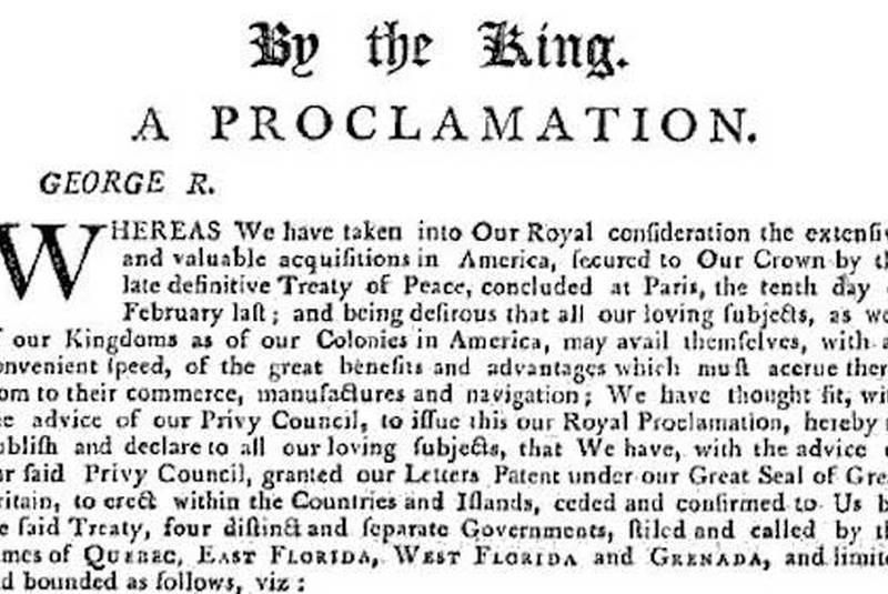 Royal Proclamation of Rebellion