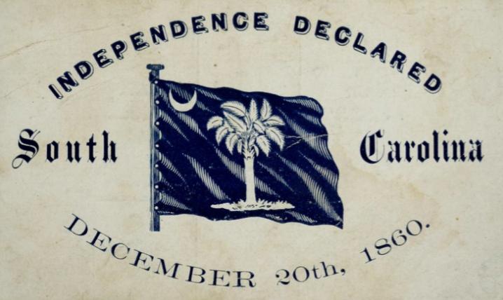 Declaration of Causes of Seceding States – South Carolina