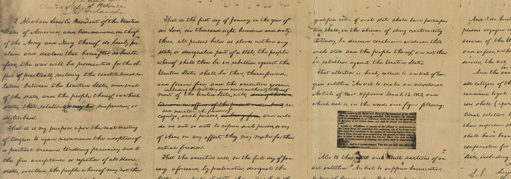 A Northerner Reflects on the Significance of the Emancipation Proclamation