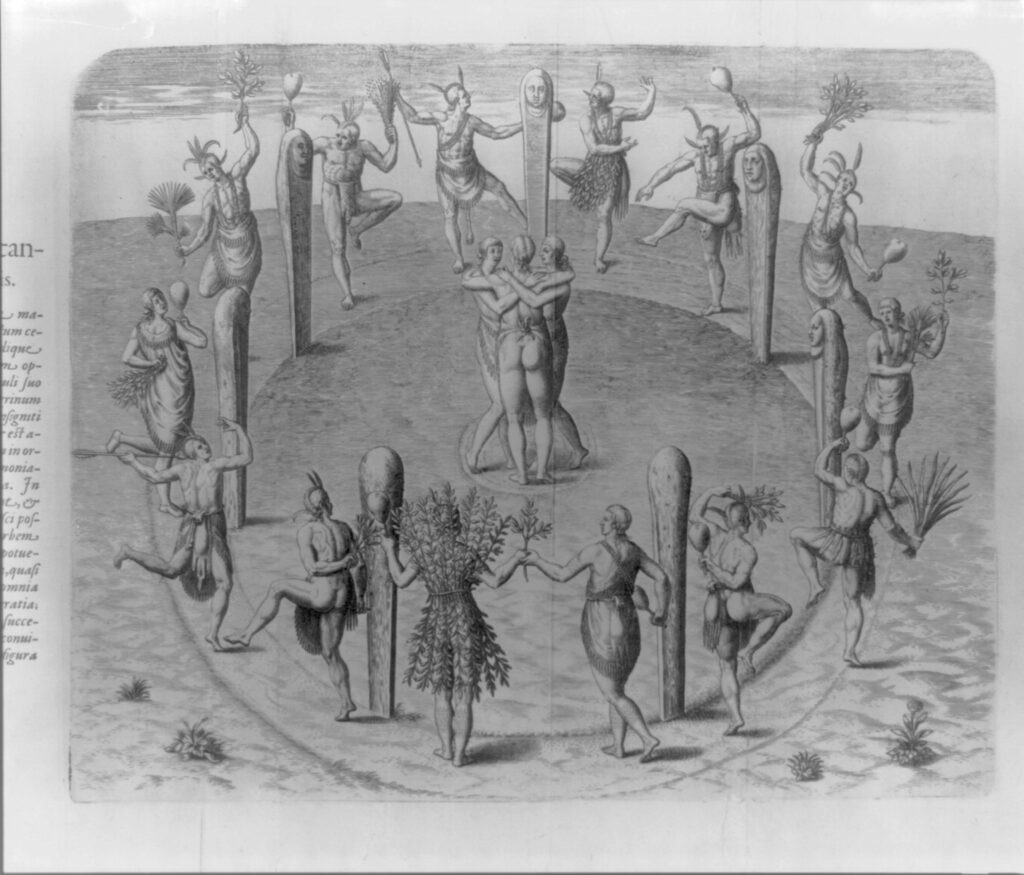 The Dances at their Great Feasts