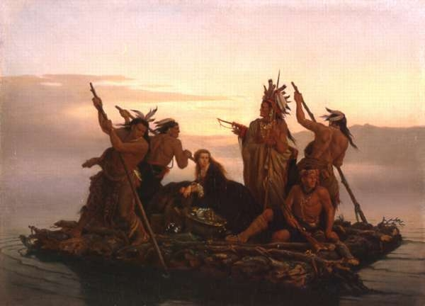 Abduction of Daniel Boone's Daughter By the Indian