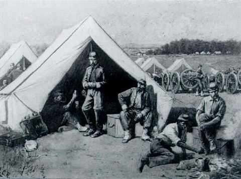 Life in Camp After the First Battle of Bull Run