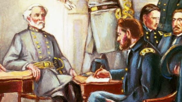 General Robert E. Lee Surrenders