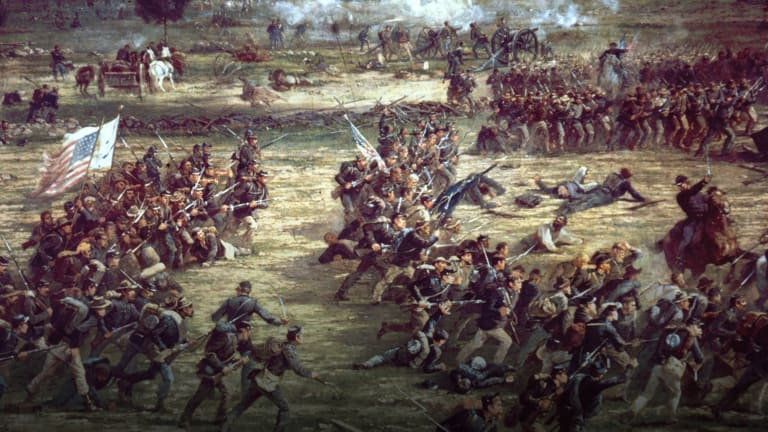A First-Hand Description of the Battle of Gettysburg