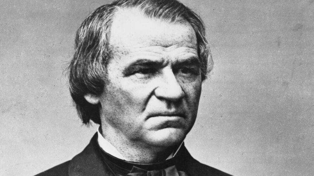 An Ardent Republican Expresses Her View of Vice President Andrew Johnson