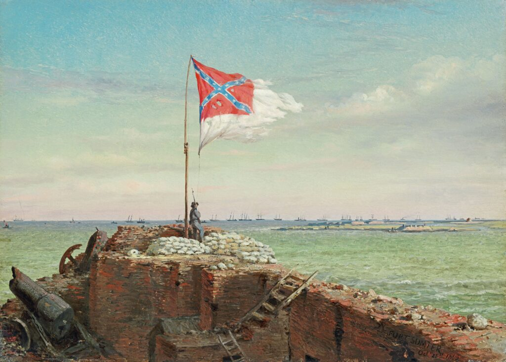 The Confederacy Begins to Collapse from Within
