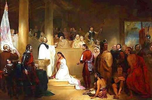 Baptism of Pocahontas
