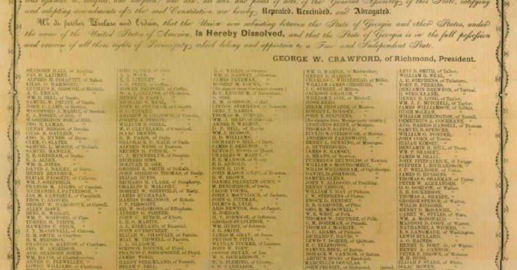 Secession Ordinances of 13 Confederate States