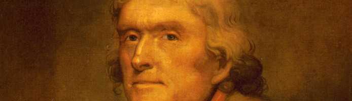 Thomas Jefferson Describes the Revolutionary War in the South