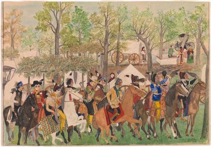 Cherokee: Opening engagements