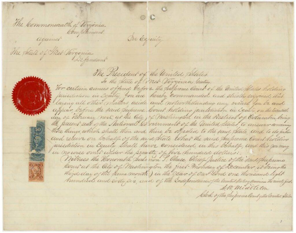 Virginia Constitution