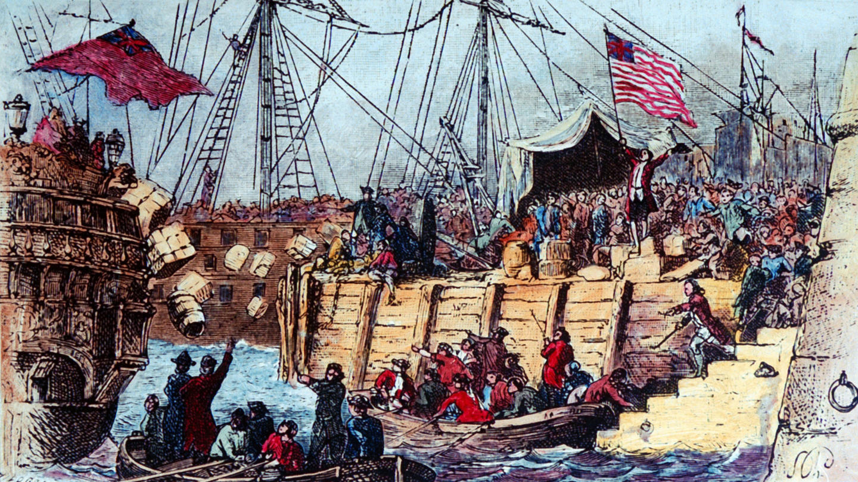 The Boston Massacre and Tea Party