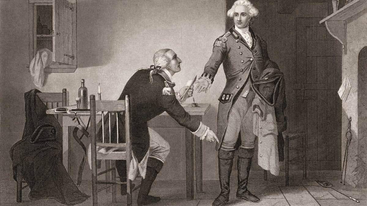 Benedict Arnold's Treason