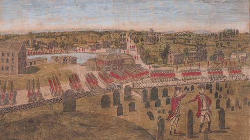 A False Report of a British Attack on Boston