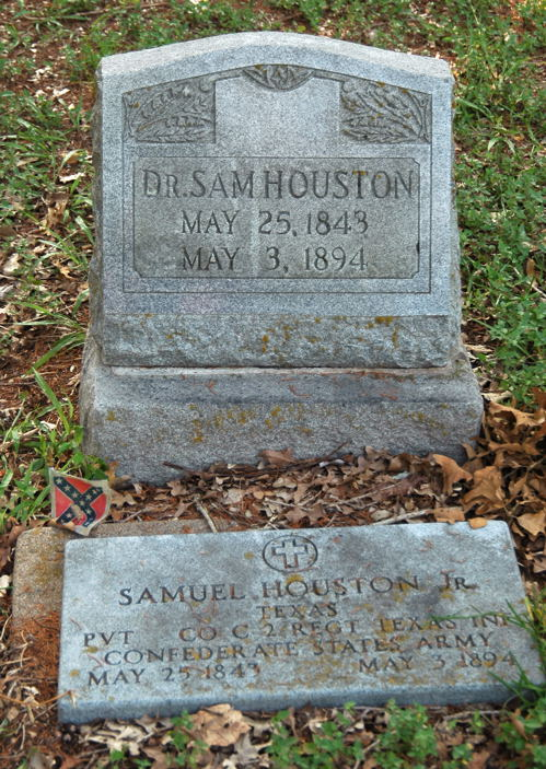 Saved By His Bible – Sam Houston, Jr.