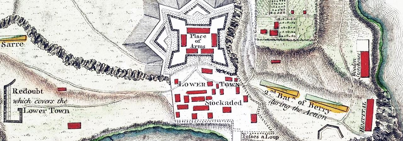 Revolutionary Forts and Fortifications